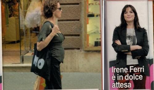 Irene Ferri,dolce attesa,