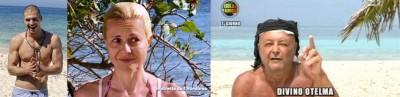 isola dei famosi,antonella elia, valeria marini,televoto