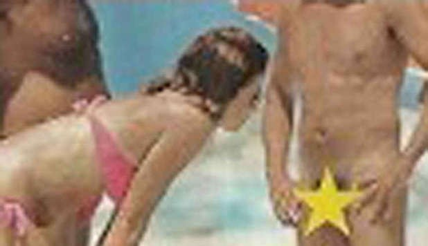 cristina parodi sguardi hot al nudista di formentera