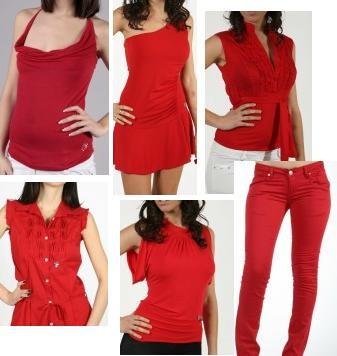 : rosso, donna, fare, sesso, colore