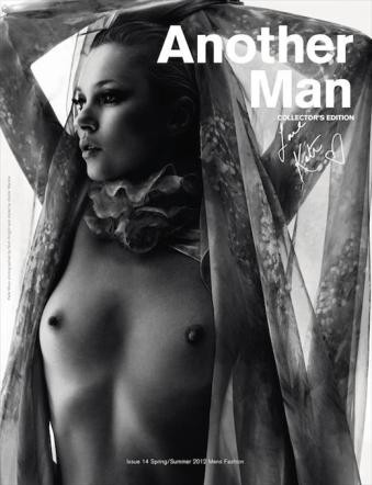 : kate, moss, topless, another, man, modella