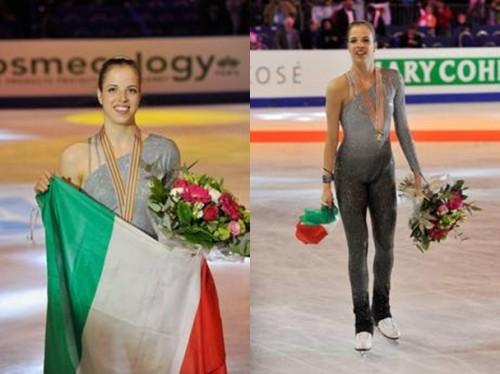 Carolina Kostner,mondiali,pattinaggio