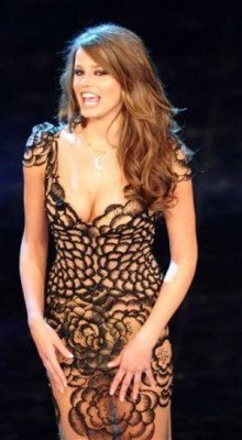 sanremo  2012,ivana Mrazova la sua bellezza