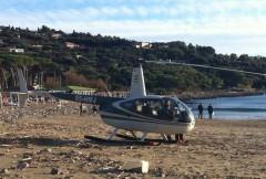 elicottero,in,spiaggia,