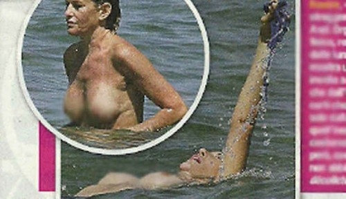 Lucrezia Lante della Rovere: In  topless, un corpo da fare invidia