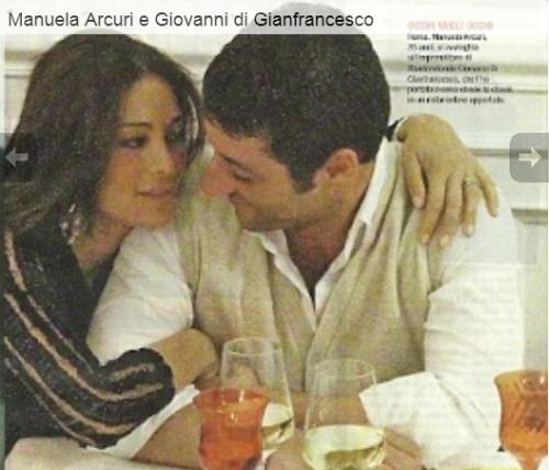 Manuela Arcuri e Giovanni di Gianfrancesco (Novellla2000)